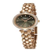 Relógio Seculus Feminino Fashion Crystal Rosê 13033LPSVRB1 -
