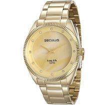 Relógio Seculus Feminino Long Life 20388lpsvda1 -