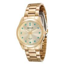 Relógio Seculus Feminino Long Life 20390lpsgda2 -