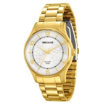 Relógio Seculus Feminino Long Life - 28451LPSVDA1 -