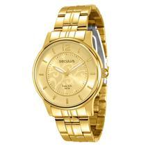 Relógio Seculus Feminino Long Life - 28502LPSVDA1 -