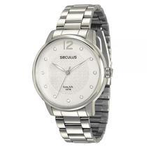 Relógio Seculus Feminino Long Life - 28509l0svna2 - SECULUS -