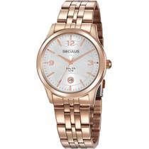 Relógio Seculus Feminino Long Life 35017LPSVRA1 -