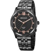 Relógio Seculus Feminino Long Life 35025LPSVPA3 -
