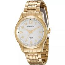 Relógio Seculus Feminino Long Life Analógico 20404LPSVDA1 -