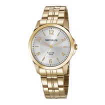 Relógio Seculus Feminino Long Life Analógico 28879LPSVDA1 -