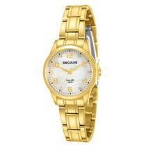 Relógio Seculus Feminino Long Life Analógico 28910LPSVDA1 -