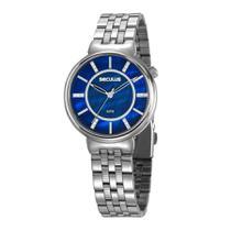 Relógio Seculus Feminino Ref: 20625l0svns3 Casual Prateado -