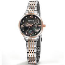 Relógio Seculus Feminino Ref: 20840lpsvgs2 Social Bicolor -