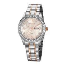 Relógio Seculus Feminino Ref: 20884lpsvgs2 Fashion Bicolor -