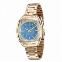 Relógio Seculus Feminino Ref: 23536lpsvds2 Casual Dourado -