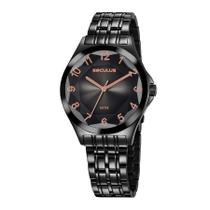 Relógio Seculus Feminino Ref: 23602lpsvps7 Fashion Black -