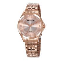 Relógio Seculus Feminino Ref: 23602lpsvrs4 Fashion Rosé -