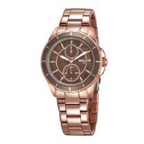 Relógio Seculus Feminino Ref: 28972lpsvrs1 Multifunção Rosé -