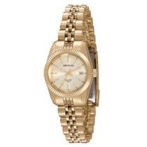 a2fe13feec2 Relógio Seculus Feminino Ref  77025lpsvda1 Clássico Dourado