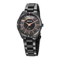 Relógio Seculus Feminino Ref: 77028lpsvsf3 Fashion Grafite -