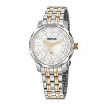Relógio Seculus Feminino Ref: 77071lpsvbs2 Casual Bicolor -