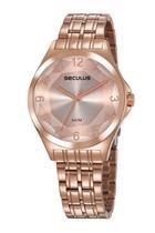 Relógio Seculus Feminino Rosê 23602LPSVRS4 -