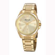 Relógio Seculus Long Life Masculino 20855GPSVDA1 -