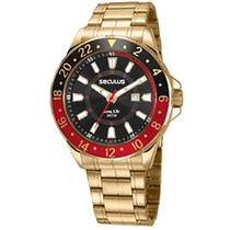 Relógio Seculus Long Life Masculino 23653GPSVDA2 -