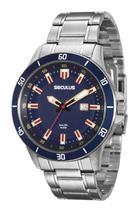 Relógio Seculus Masculino 20427GOSVNA1 -