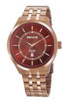 Relógio Seculus Masculino  20797GPSVRA1 Long Life -