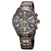 Relógio seculus masculino 20838gpsvsa2 grafite -