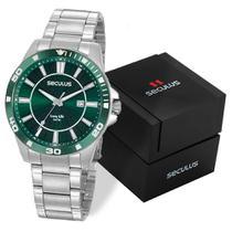 Relógio seculus masculino 20956g0svna2 -