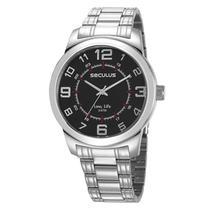 Relógio seculus masculino 23641g0svna2 - Condor