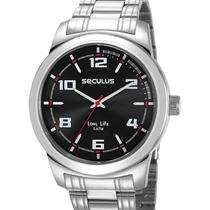 Relógio seculus masculino 23642g0svna1 -