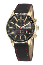 Relógio Seculus Masculino 23649gpsvha1 Cronógrafo Dourado -