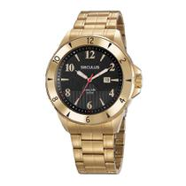 Relógio Seculus Masculino 23651gpsvda1 Casual Dourado -