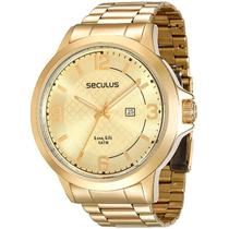 Relógio Seculus Masculino 28660gpsvda2 -