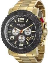 Relógio Seculus Masculino 28674gpsvda1 -