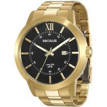 Relógio Seculus Masculino 28693gpsvda2 -