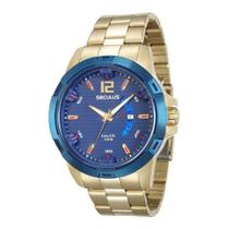 Relógio Seculus Masculino 28741GPSVLA1 -