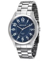 Relógio Seculus Masculino 28866g0svna1 Prata -