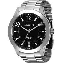 Relógio Seculus Masculino 28883g0svna1 -