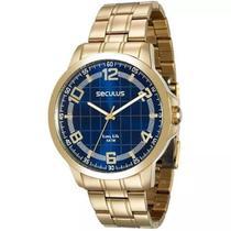 Relógio Seculus Masculino 28896GPSVDA2 -