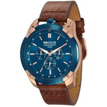 Relógio Seculus Masculino 28915GPSVVC1 -