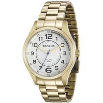 Relógio Seculus Masculino 28921GPSVDA2 -