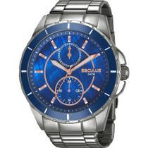 Relógio Seculus Masculino 28972LPSVSS2 -