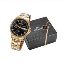 Relógio Seculus Masculino 35013GPSKDA1K1 -
