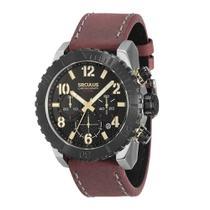Relógio Seculus Masculino Analógico  13011gpsvcc2 -
