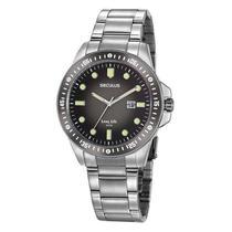 Relógio Seculus Masculino Analógico 20852G0SVNA3 Aço -