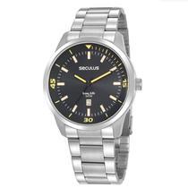 Relógio Seculus Masculino Analógico 20958G0SVNA3 Aço inox -
