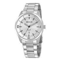 Relógio Seculus Masculino Analógico 20958G0SVNA4 Aço -