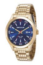 Relógio Séculus Masculino Analógico 23646GPSVDA3 - Seculus