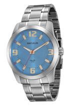 Relógio Seculus Masculino Analógico Prata 20501G0SVNA1 -