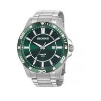 Relógio Seculus Masculino Analógico Prata  20956G0SVNA2 -